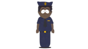 African-American Policeman - South Park