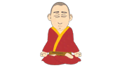 Buddhist Monk - South Park