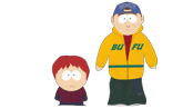 Calvin and Little Buck - South Park