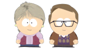 Carole and Boyfriend - South Park