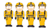 Cave Rescue team (Manbearpig)