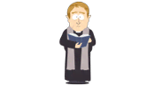 Cemetery Staff Priest - South Park