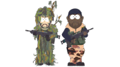 Evergreen Mercenaries (Night of the Living Homeless) - South Park