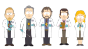Forencisc Scientists - South Park