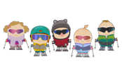 PC Babies on Skis - South Park