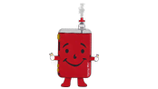 Vaping Man Mascot