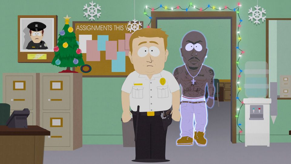 A Black Guy Walked Into The Police Station (Season 18 - episode 10 - #HappyHolograms)