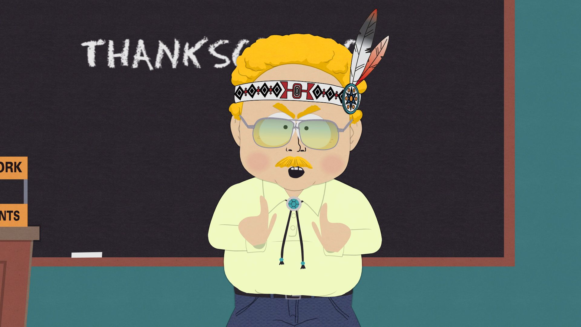 A Real, Live Native American - Seizoen 15 Aflevering 13 - South Park