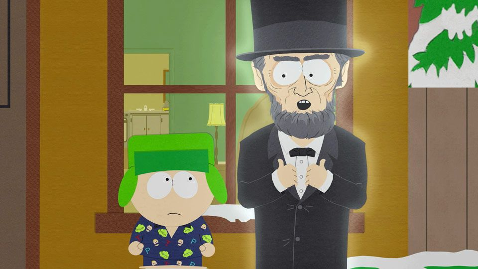 Abraham Lincoln (Season 11 - episode 14 - The List)