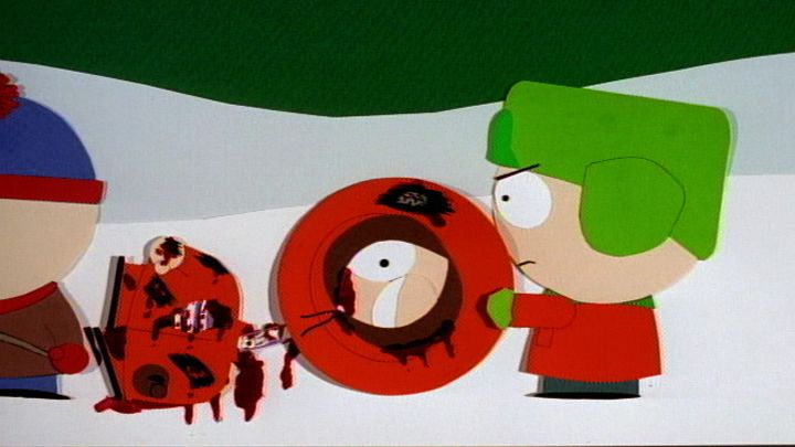 Aliens Kill Kenny (Season 1 - episode 1 - Cartman Gets an Anal Probe)