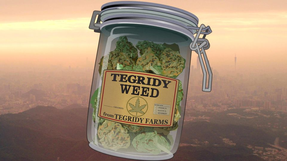 All Hail Tegridy Weed (Season 23 - episode 2 - Band in China)
