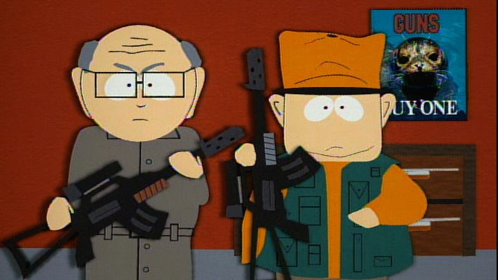 Buying a Gun - Season 1 Episode 2 - South Park