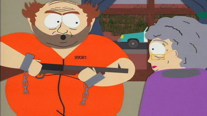 Cartman Family Standoff (Season 2 - episode 16 - Merry Christmas Charlie Manson!)