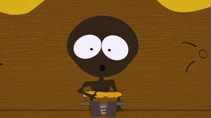 Cartman on TV (Season 1 - episode 9 - Starvin' Marvin)