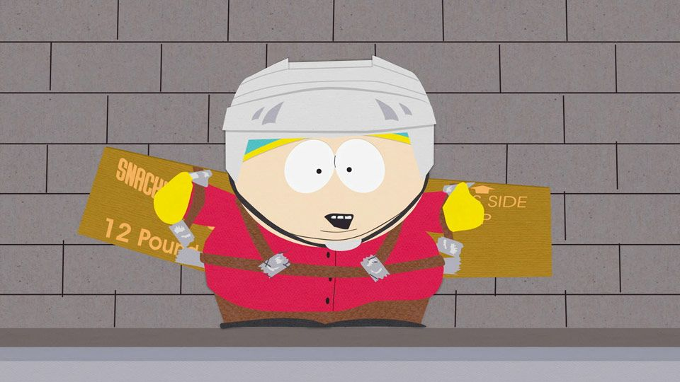 Cartman's Magic of Flight (Season 8 - episode 13 - Cartman's Incredible Gift)
