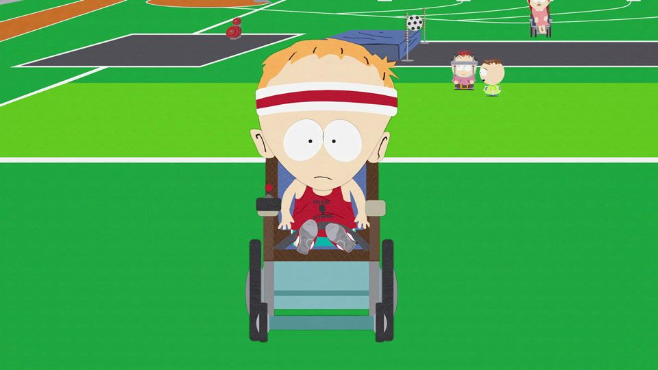 Cartman's Registration (Season 8 - episode 3 - Up the Down Steroid)