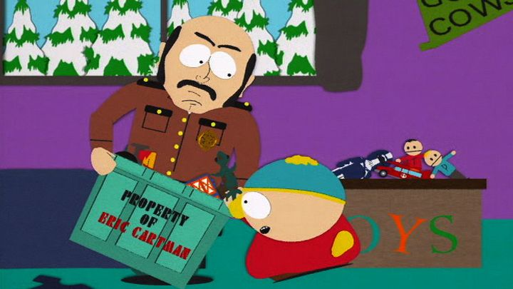 Cartman's Settlement (Season 3 - episode 6 - Sexual Harassment Panda)