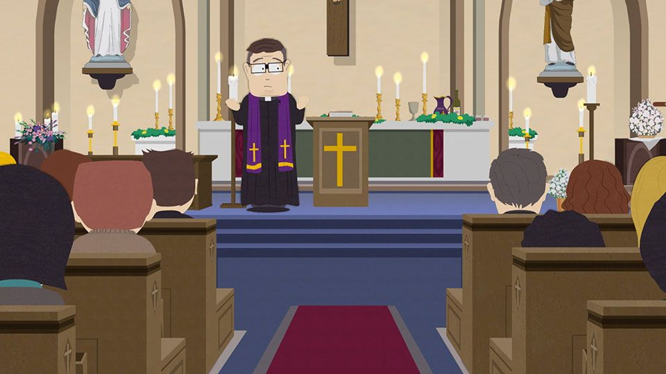 Church is About Community - Season 22 Episode 2 - South Park