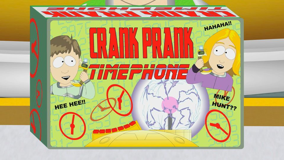 Crank Prank Time Phone (Season 10 - episode 13 - Go God Go XII)