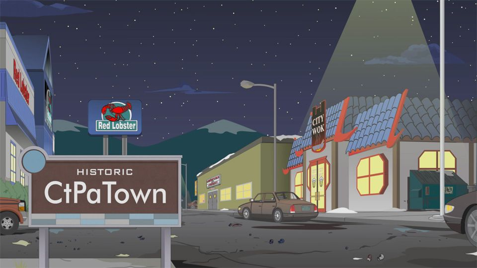 CtPaTown (Season 19 - episode 3 - The City Part of Town)