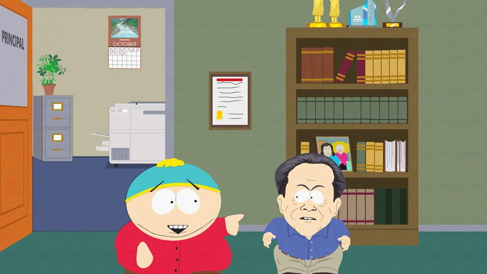 Dr. Nelson Meets Eric Cartman (Season 11 - episode 1 - With Apologies to Jesse Jackson)