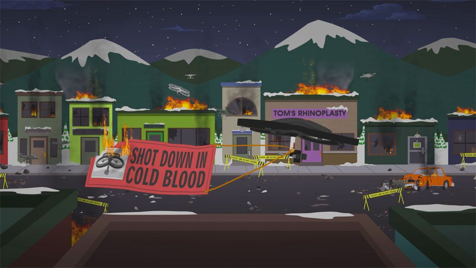 Drone Riots - Season 18 Episode 5 - South Park
