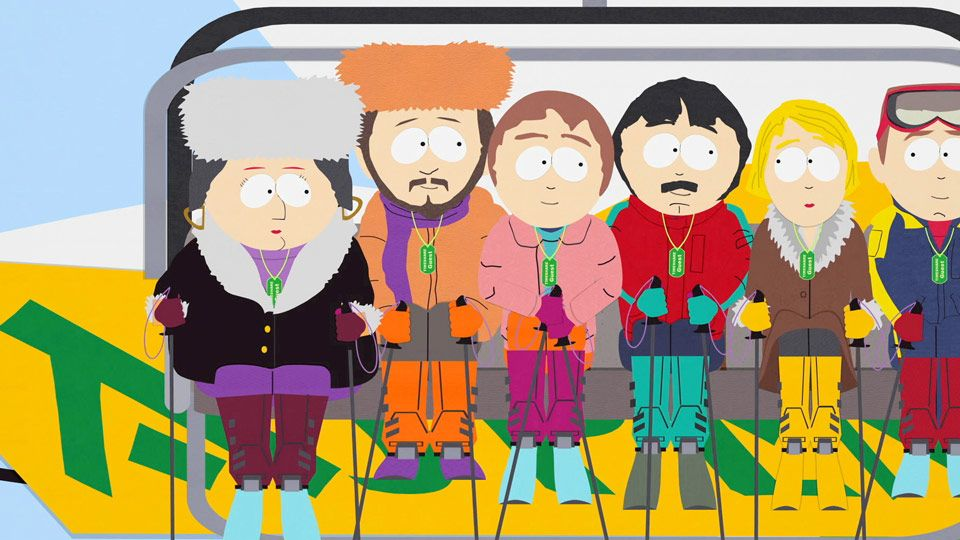 Exclusive Passes - Season 6 Episode 3 - South Park