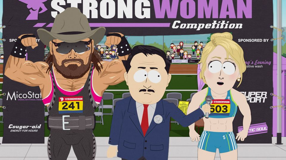 Go Strong Woman, Go (Season 23 - episode 7 - Board Girls)