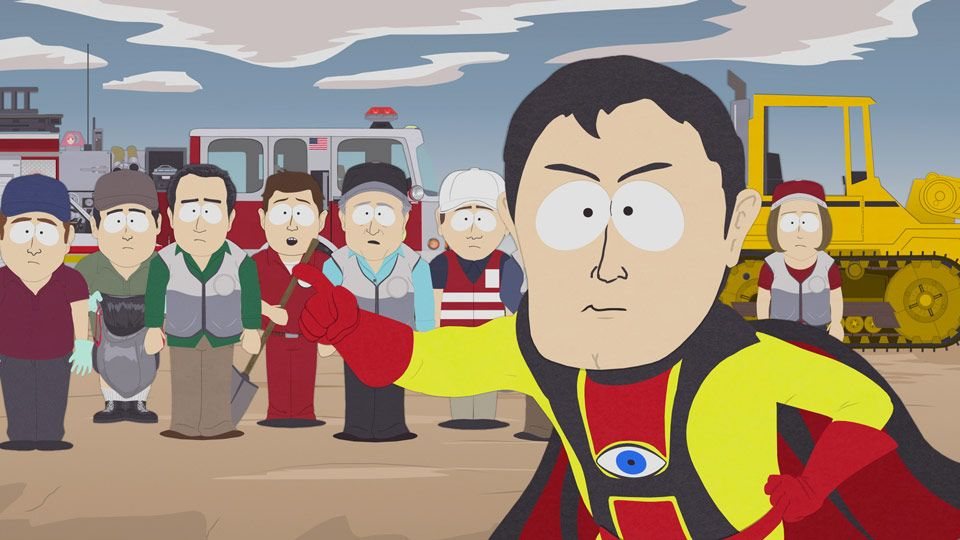 God Bless You Captain Hindsight!! - Seizoen 14 Aflevering 11 - South Park