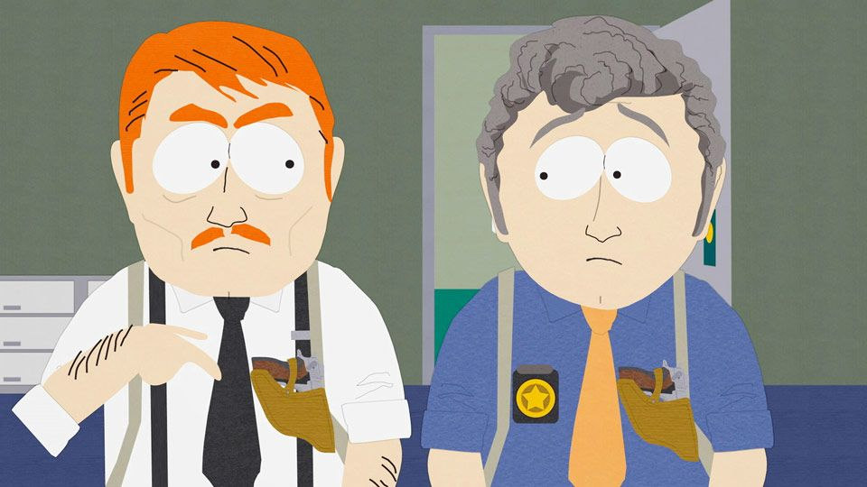 Good Old Fashion Police Work (Season 8 - episode 13 - Cartman's Incredible Gift)