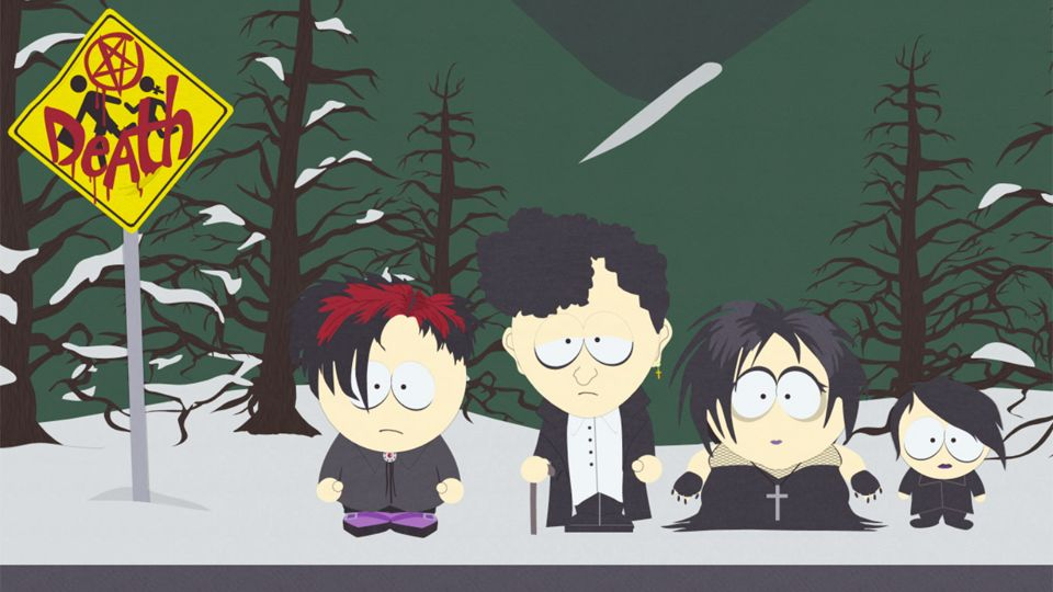 Goth Kids 3: Dawn of the Posers - Season 17 Episode 4 - South Park