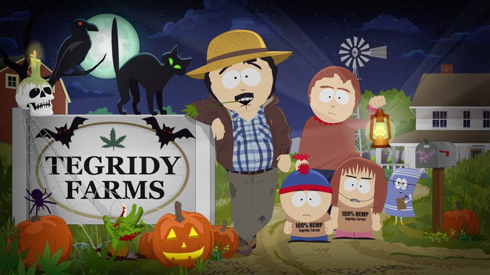 Halloween Special Intro (Season 23 - episode 5 - Tegridy Farms Halloween Special)