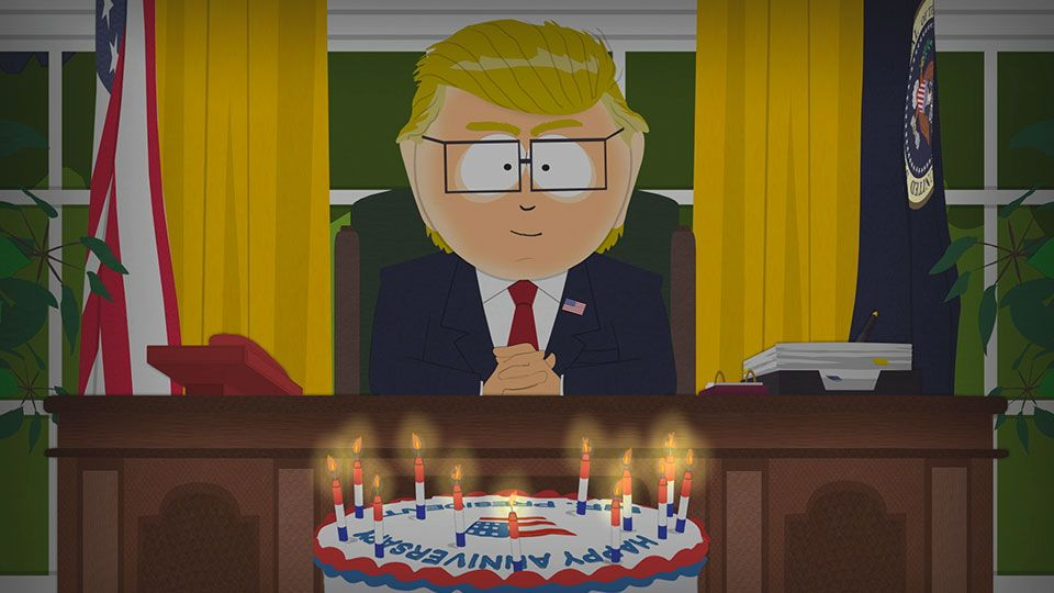 Happy Anniversary, Mr. President (Season 21 - episode 7 - Doubling Down)