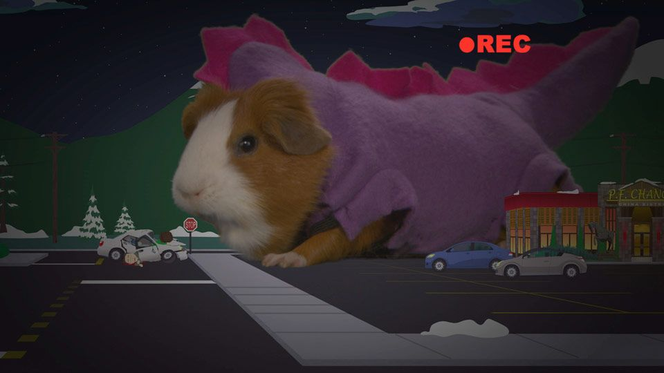 It's a Guinea Saurus Rex! (Season 12 - episode 11 - Pandemic 2: The Startling)