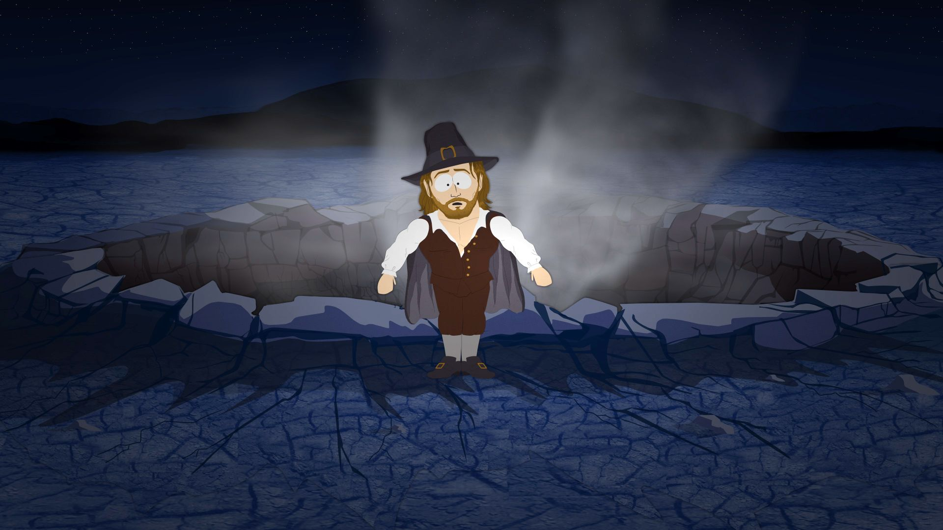 It's a Pilgrim, Sir! - Seizoen 15 Aflevering 13 - South Park