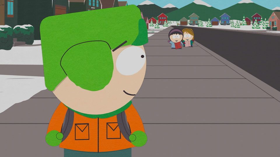 Kyle Swings For The Same Team (Season 16 - episode 7 - Cartman Finds Love)