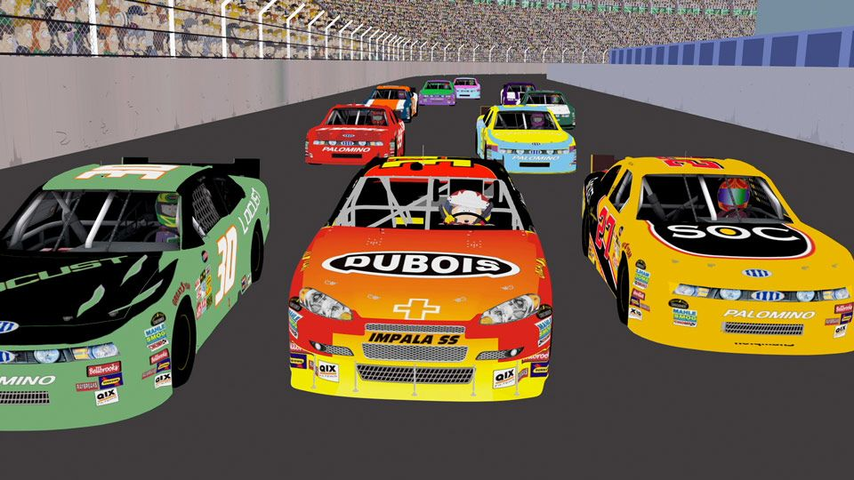 Let's Go NASCAR!! (Season 14 - episode 8 - Poor and Stupid)