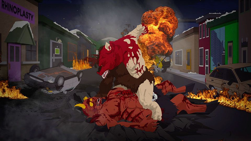ManBearPig vs. Satan - Seizoen 22 Aflevering 7 - South Park