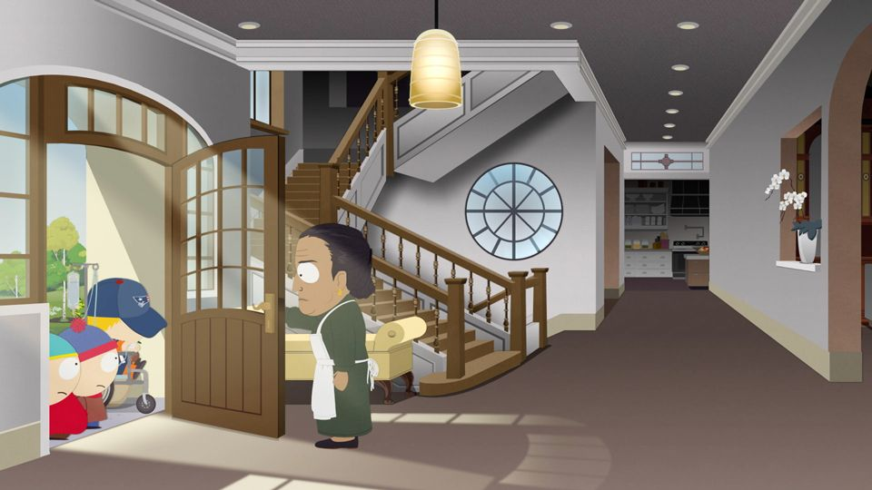 Mr. Brady Is Using the Bathroom - Season 23 Episode 8 - South Park