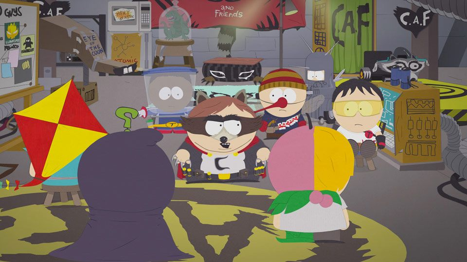 My Fellow Heroes - Seizoen 14 Aflevering 11 - South Park