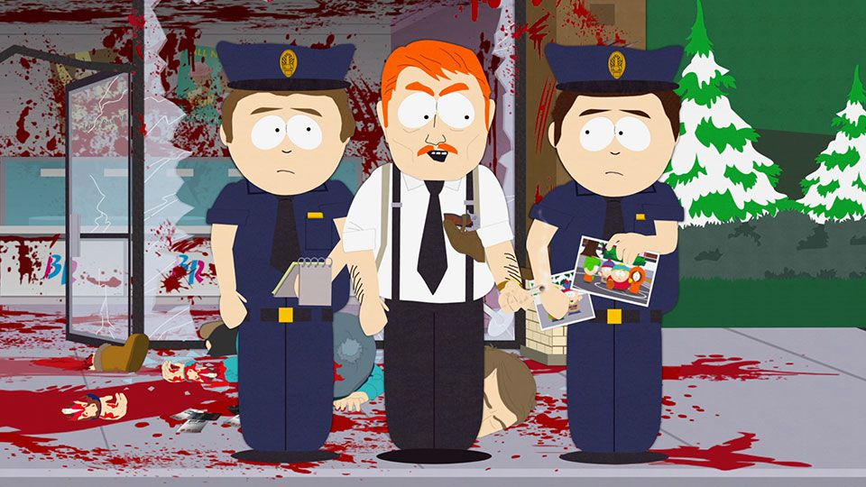 Out of Harm's Way - Seizoen 22 Aflevering 6 - South Park