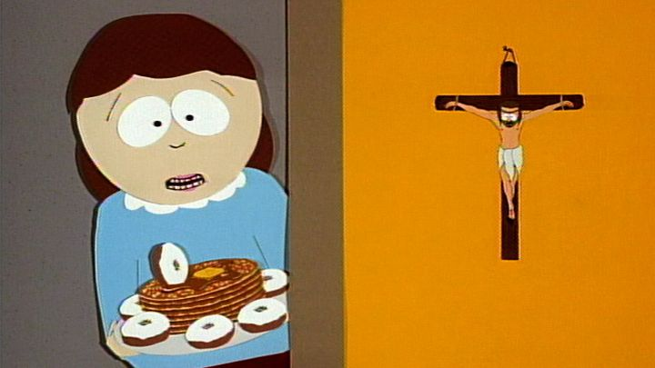 Powdered Donut Pancake Surprise (Season 1 - episode 1 - Cartman Gets an Anal Probe)