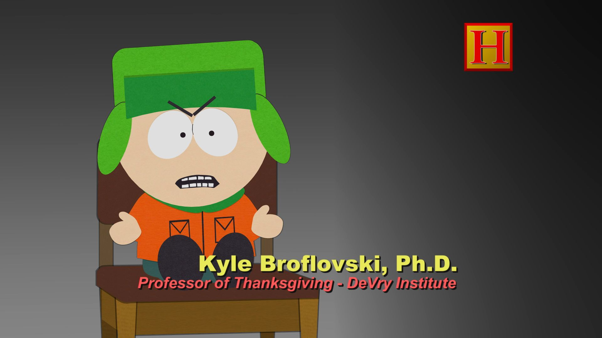Professor of Thanksgiving, Ph.D. - Seizoen 15 Aflevering 13 - South Park