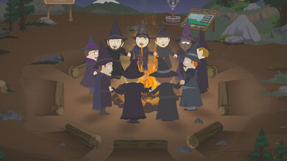 Put a Spell on Our Wives (Season 21 - episode 6 - Sons A Witches)