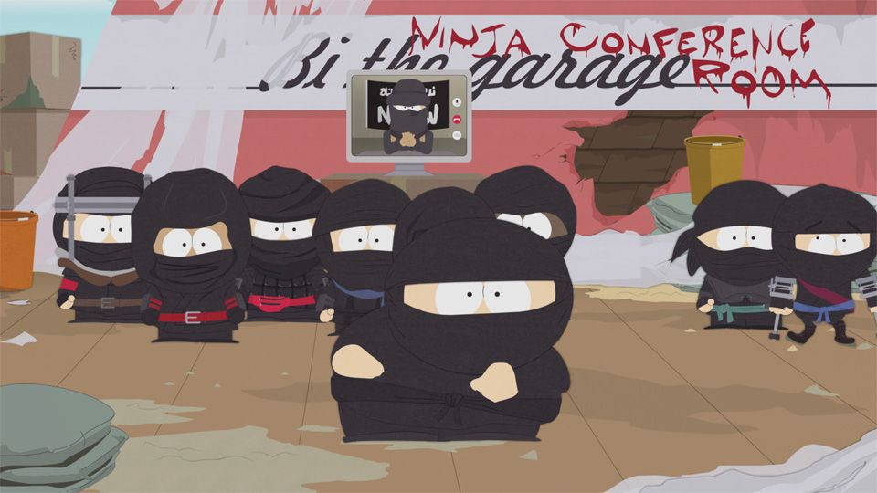 Real Ninjas Want to Talk To Us - Seizoen 19 Aflevering 7 - South Park
