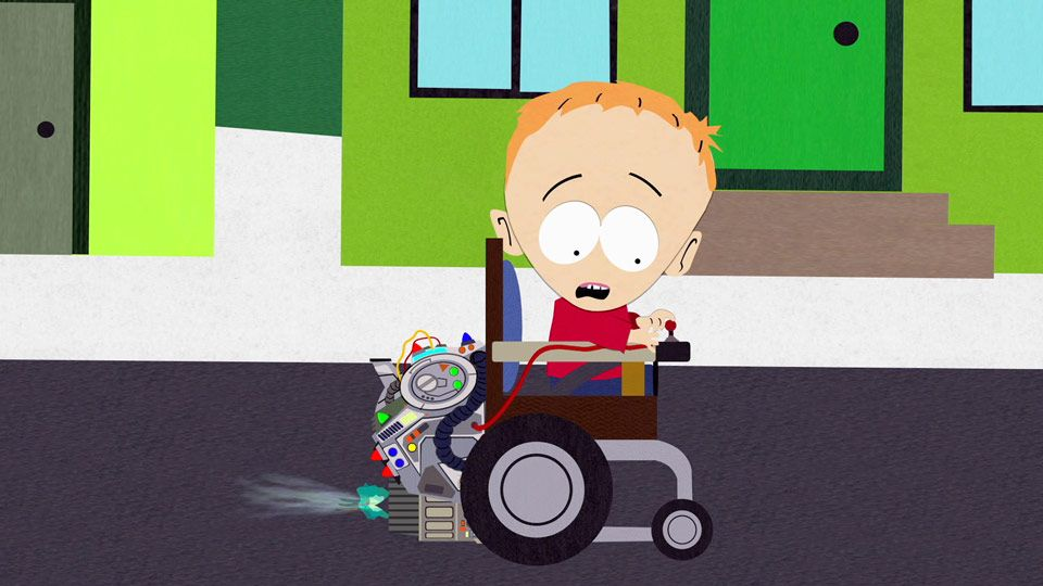 Renegade Wheelchair (Season 4 - episode 12 - 4th Grade)