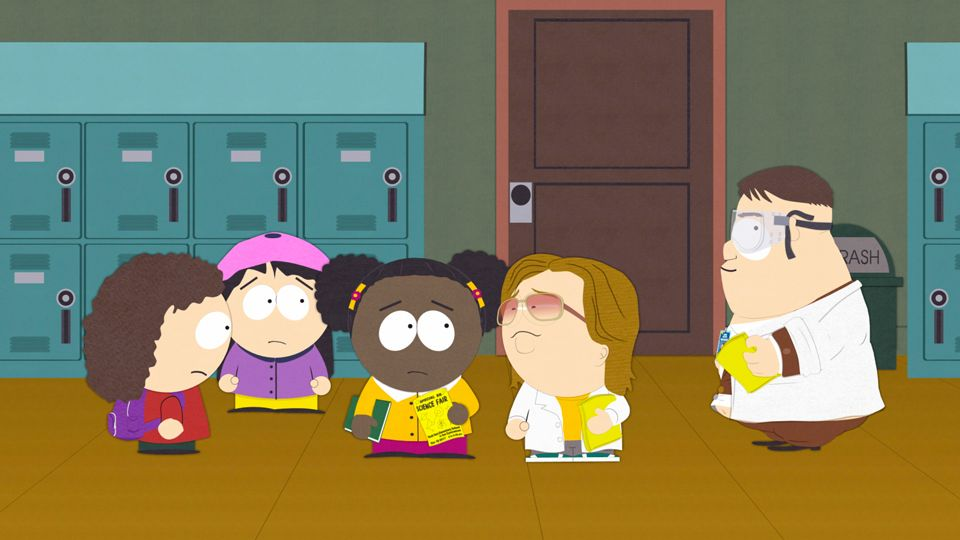 Moss Piglets - Season 21 Episode 8 - South Park