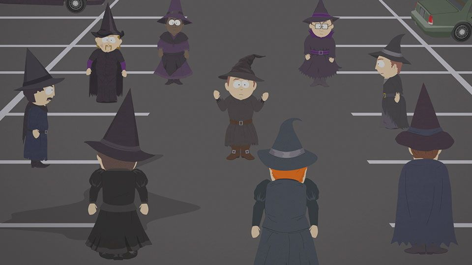 Stephen's a Bad Witch (Season 21 - episode 6 - Sons A Witches)