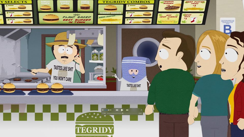 Tegridy Burger Grand Opening (Season 23 - episode 4 - Let Them Eat Goo)