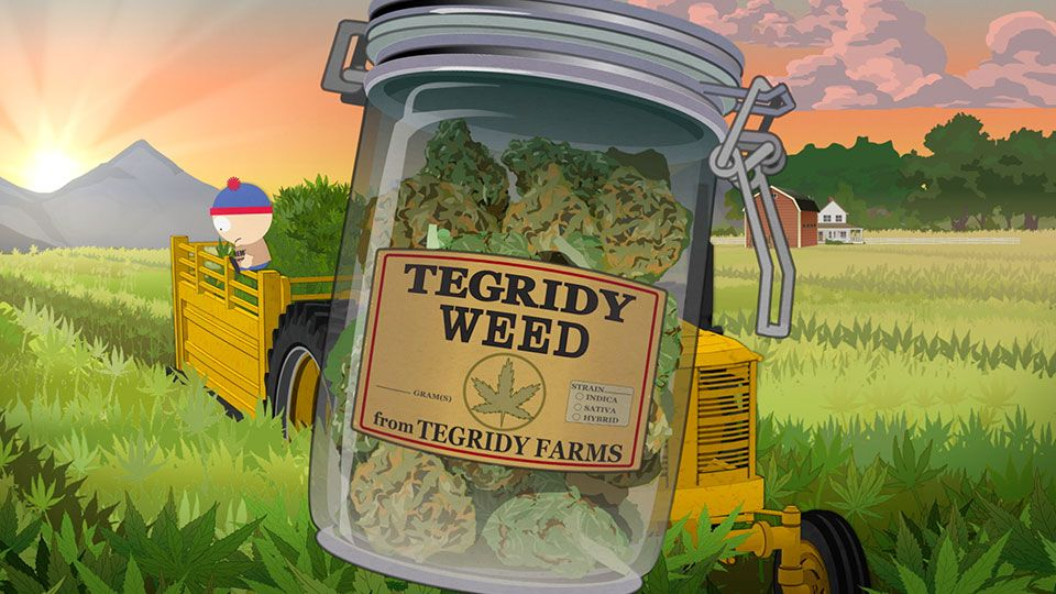 Tegridy Weed (Season 22 - episode 4 - Tegridy Farms)